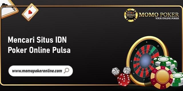 idn poker online pulsa
